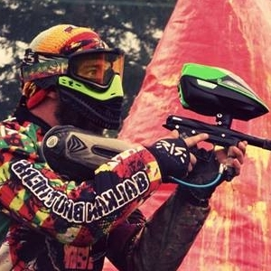 Paintball player Lafcho